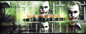 Why so serious ? by meteorblade