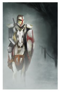 Lone Knight by clouseth