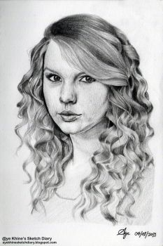 Taylor Swift by ayekhine