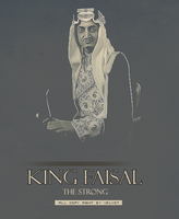 King FAISAL by V-E-L-V-E-T