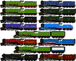LNER A1-A3 sprites by omega-steam