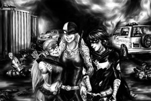 DC: Daughters by aimoia