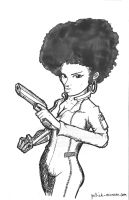 Misty Knight by tolemach