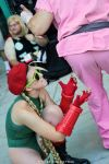 Street Fighter II - Hipster Cammy (AX 2012) by BrianFloresPhoto
