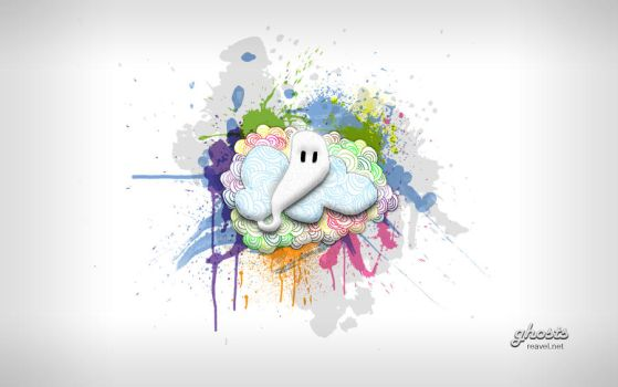 Ghosts Wallpaper by reavel