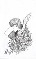 APH__Russia with Sunflowers by zerou