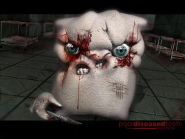 Poor diseased tooth by grimmy3d