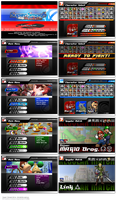 Super Smash Bros. Vendetta Menus by cArxangel