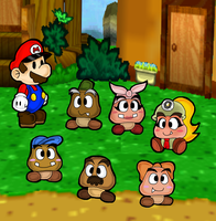 the  new goomba village by marshie-chan