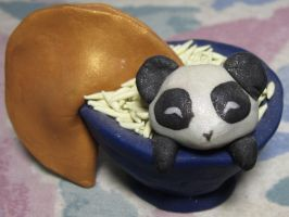 Fortunate Panda by SmilingMoonCreations