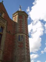 Charlecote Park Tower by FlutterbyStock