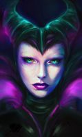 Maleficent by Kanamm