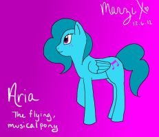 First Pony: Aria by MelodicMarzipan