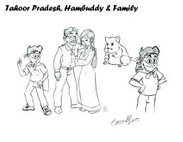 Being Hopelessly Heroic... Meet The Pradesh Family by WinkGuy1