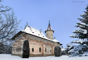 St. George's church in winter by BogdanEpure