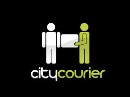 City Courier Logo by ZincH21