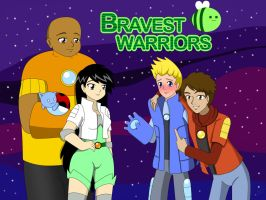 Bravest Warriors Anime Style by dimensioncr8r