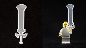 LEGO 3D Printed Darknut Sword by mingles