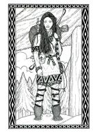 Kyrjva the Sami Traveler by plt25