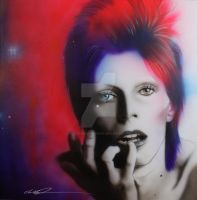 'Ziggy Stardust' by christianchapmanart