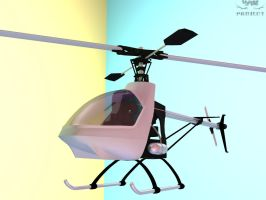 Helicopter F 'clean' - 3D by 4as