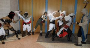 Metrocon 2012: Assassin's Creed - Infighting by Cynuyasha