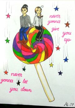 Never Gonna Give You Up by MinneWinne