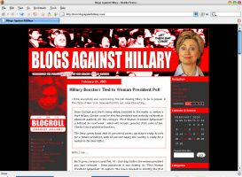 Blogs Against Hillary v1 by armageddon