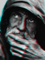 Old Man 3-D conversion by MVRamsey
