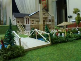 summer house maquette by merage