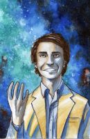 Carl Sagan by Sapiains