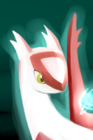 Latias SpeedPaint by NovaMirage