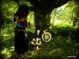 Ritual In The Woods by Estruda