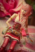 Serah Farron figure by Salvarion