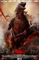 Godzilla 2014 Fanmade Release Poster by imperial96