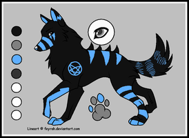 +: Wolfhome Character Ref :- by Karazy-Kitty