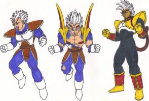 Majin Baby Vegeta Transformers by DBZ2010