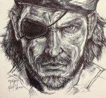 Snake (Big Boss) by inhibitus