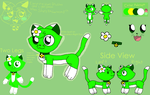 Emeraldia the Cat New Reference Sheet by Emeraldia-the-Kitty