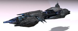 Satarack Battlecruiser by Ivanuss