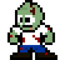 8-Bit Zombie by MelolzuGaming