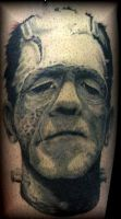 frankensteins monster by tattoos-by-zip