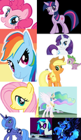mlp bookmark by cargirl64
