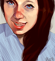 portrait commission by butterflybudda