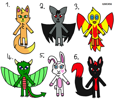 Random Adopts 31 (Open)  by ILoveMyCat456
