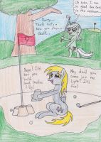 A Rousing Game of Golf... by DarkKnightWolf2011
