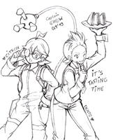 Clemont and Cilan by Captain--Ruffy