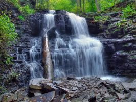 Ricketts Glen State Park 20 by Dracoart-Stock