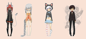{10/100 adopts - closed} by peachshark