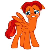 Goldblaze Crying by GoldenFoxDA